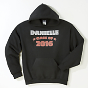 2016 personalized graduation sweatshirt