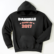 2017 personalized graduation sweatshirt