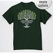 Personalized Family Reunion Tree Tee