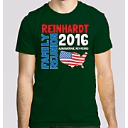 Personalized Family Reunion USA Tee