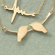 lovebirds pendant