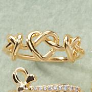 3-Heart Ring