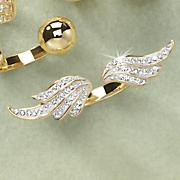 Cubic Zirconia Wings Ring