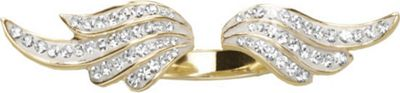 Cubic Zirconia Wings Ring
