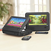 7  twin mobile dvd players by rca