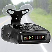 laser radar detector with digital compass by whistler