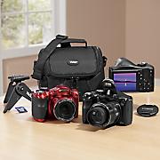 18 MP, 40x Optical Zoom Digital Camera Bundle by Polaroid