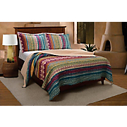 Southwest Quilt Set and Throw