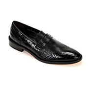 Valenti Wingtip Penny Loafer by Stacy Adams