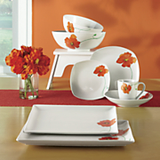 Poppy Dinnerware, Bowls and Platters