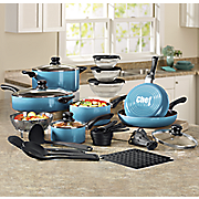 Chef Tested® 31-Piece Gradient Cookware Set by Montgomery Ward®