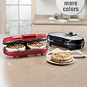 chef tested double waffle maker by montgomery ward