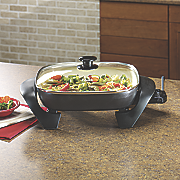 duraceramic electric skillet by oster