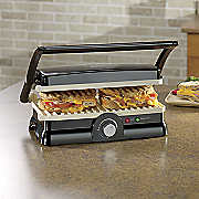 duraceramic 2 in 1 panini maker and grill by oster