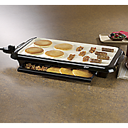 duraceramic griddle with warming tray by oster