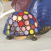 multicolor turtle lamp