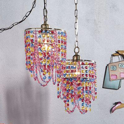 Mila Multicolor Beaded Pendant Lamp
