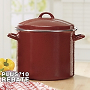 Riverbend 12-Qt. Speckled Stockpot by Paula Deen