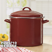 riverbend 12 qt  speckled stockpot by paula deen