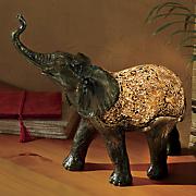 mosaic elephant lamp