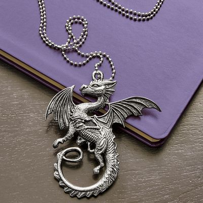 Dragon Pendant with Knife