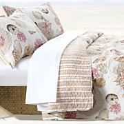 Castaway Quilt Set, Throw and Shower Curtain