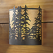 northern pines wireless wall sconce