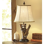 Raccoon Table Lamp by Mossy Oak