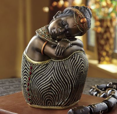 Jabari Sitting Figurine