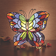 Nature Preserve Butterfly Lamp