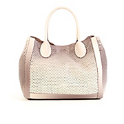 bperfie perforated bag in bag tote by steve madden