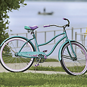 women s good vibrations 26  cruiser by huffy