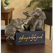higher ground elephant figurine 29
