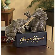 higher ground elephant figurine 29