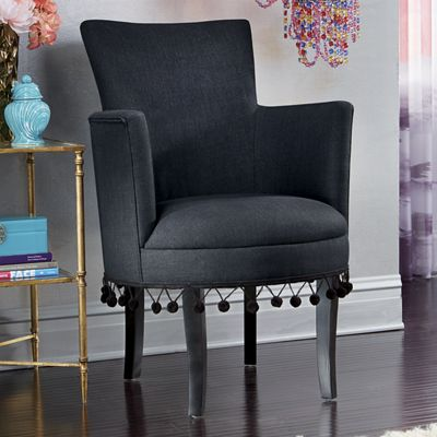 Pom Pom Tassel Chair From Midnight Velvet V7738428