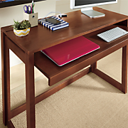 solid wood desk with usb ports