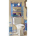 Lacey Blue Bathroom Space Saver