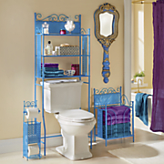 lacey blue bathroom furniture