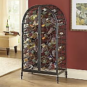 arch grape wine rack