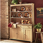 good old fashioned hutch and sideboard
