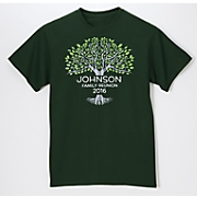personalized family reunion tee