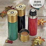 25 oz  12 gauge shotshell thermo bottle