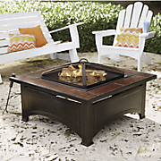 ceramic tile fire pit