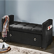 in seat storage bench
