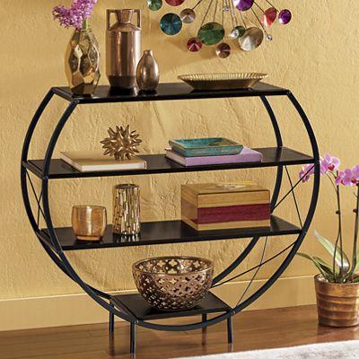 4-Tier Curved Shelf