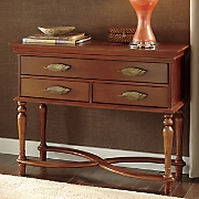 baroness leaf console table