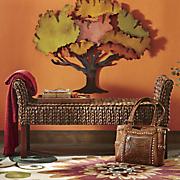 caspian sea woven bench