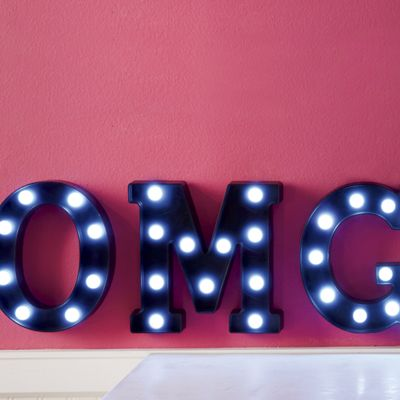 Lighted 3-Letter Marquee