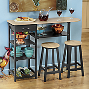 all purpose kitchen island with stools