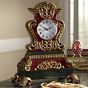 Ornate Table Clock
